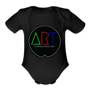 A.R.T MOVEMENT - Short Sleeve Baby Bodysuit