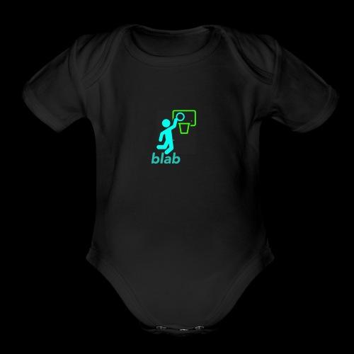 blab - Organic Short Sleeve Baby Bodysuit
