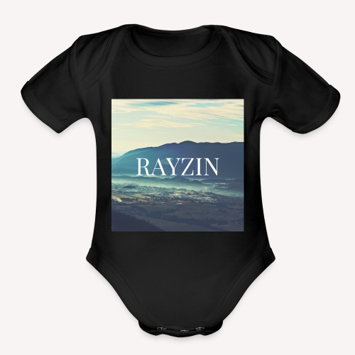 RAYZIN - Organic Short Sleeve Baby Bodysuit