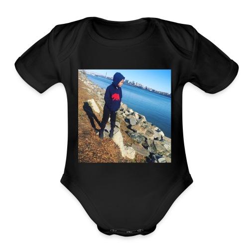 Jayden - Organic Short Sleeve Baby Bodysuit