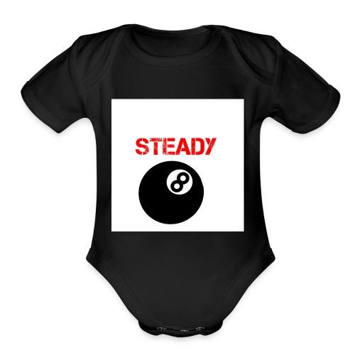 Logopit - Organic Short Sleeve Baby Bodysuit