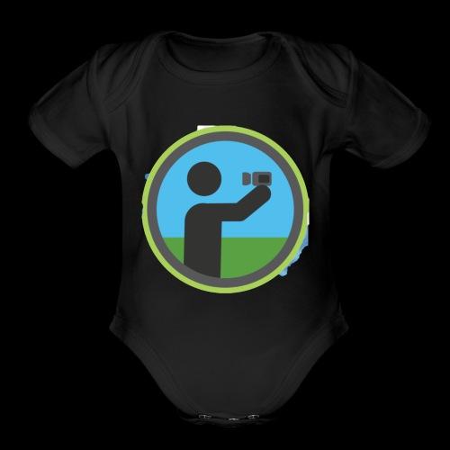 Vlogger - Organic Short Sleeve Baby Bodysuit