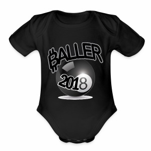 Only Ballers Can Wear This - Short Sleeve Baby Bodysuit