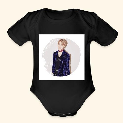 Jimin Pin - Organic Short Sleeve Baby Bodysuit
