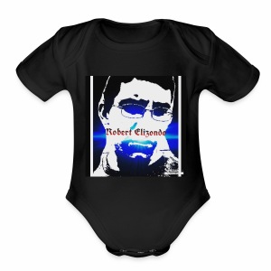 Robert elizondo - Short Sleeve Baby Bodysuit