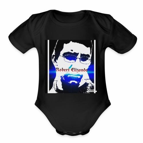 Robert elizondo - Organic Short Sleeve Baby Bodysuit