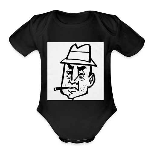 BO$$ - Organic Short Sleeve Baby Bodysuit