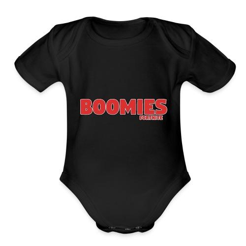 Boomies Original - Organic Short Sleeve Baby Bodysuit