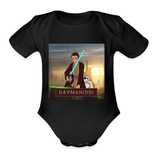Gavman1991 - Organic Short Sleeve Baby Bodysuit