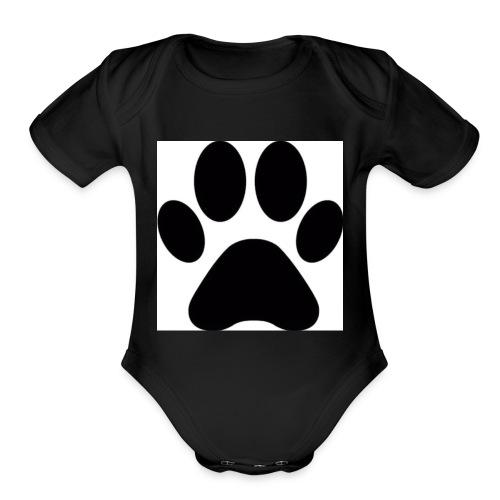Animal loving - Organic Short Sleeve Baby Bodysuit
