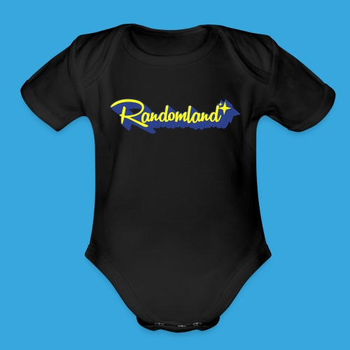 Randomland Ghosted - Organic Short Sleeve Baby Bodysuit