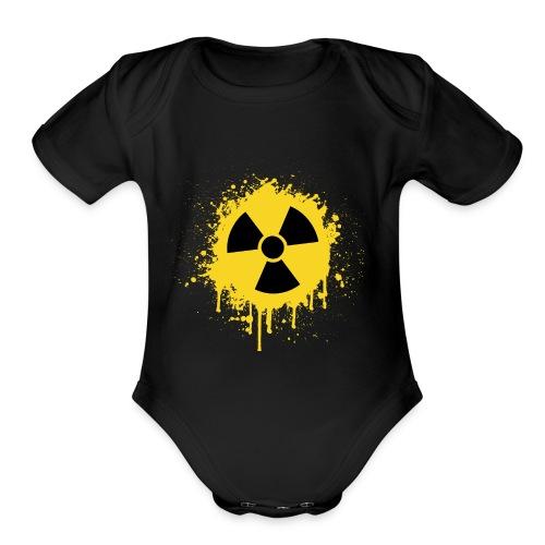 RadioActive Old School - Organic Short Sleeve Baby Bodysuit