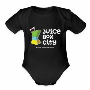JUICE BOX CITYYY! - Short Sleeve Baby Bodysuit