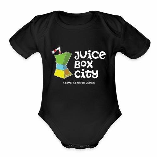 JUICE BOX CITYYY! - Organic Short Sleeve Baby Bodysuit