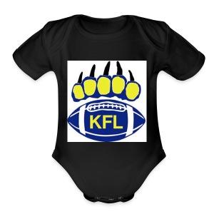 KFL Football - Short Sleeve Baby Bodysuit