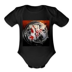 Insane Killa Logo Design - Short Sleeve Baby Bodysuit
