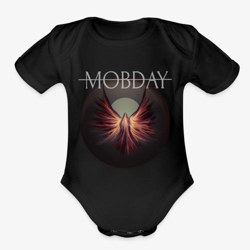 Clarity Artwork - Organic Short Sleeve Baby Bodysuit