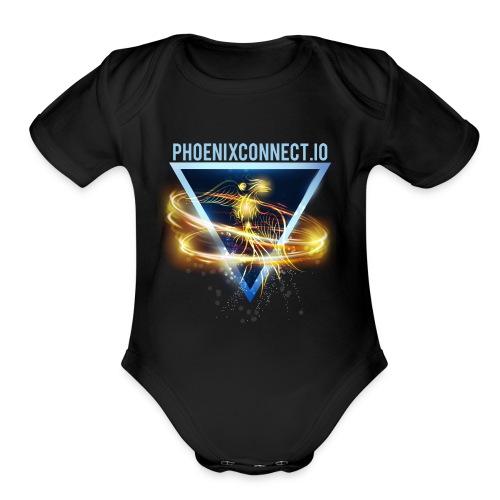 PHOENIXCONNECT - Organic Short Sleeve Baby Bodysuit