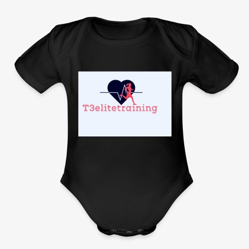 T3EliteTraining - Organic Short Sleeve Baby Bodysuit