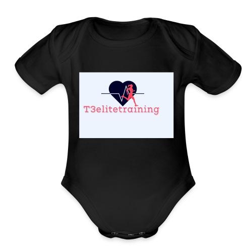 T3EliteTraining - Organic Short Sleeve Baby Bodysuit