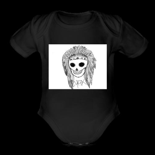 BONES CYR3X - Organic Short Sleeve Baby Bodysuit