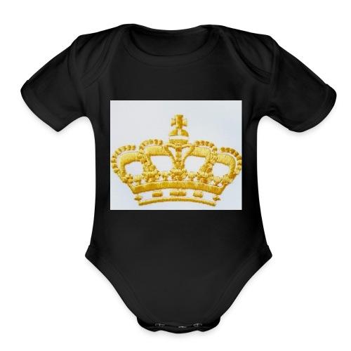 Queens - Organic Short Sleeve Baby Bodysuit