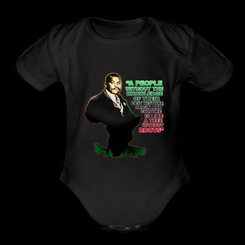 Marcus Garvey Afrika - Organic Short Sleeve Baby Bodysuit