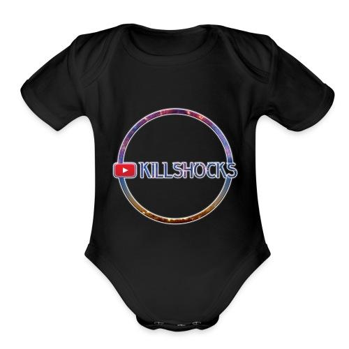 killshocks - Organic Short Sleeve Baby Bodysuit