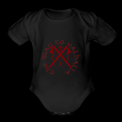The Way To Valhalla - Organic Short Sleeve Baby Bodysuit