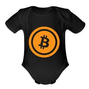 Bitcoin - Short Sleeve Baby Bodysuit