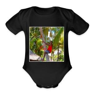 Coconuts - Short Sleeve Baby Bodysuit