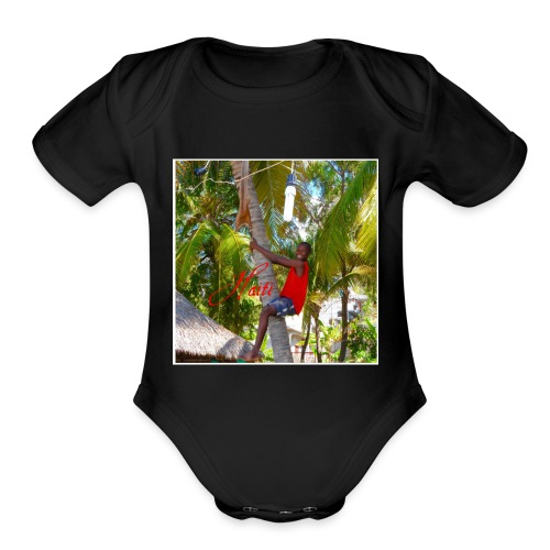 Coconuts - Organic Short Sleeve Baby Bodysuit