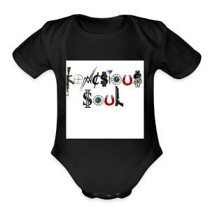 Konscious Soul - Short Sleeve Baby Bodysuit