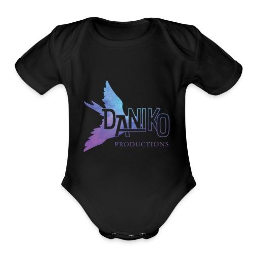 DaNiko Logo - Organic Short Sleeve Baby Bodysuit
