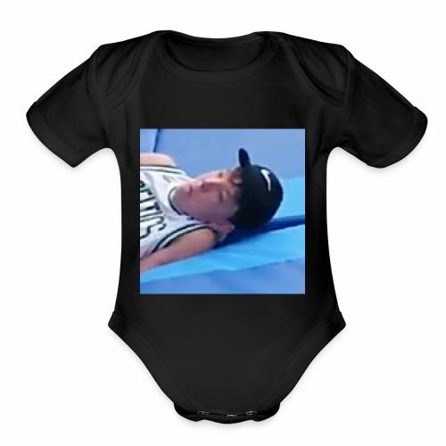 Joe - Organic Short Sleeve Baby Bodysuit