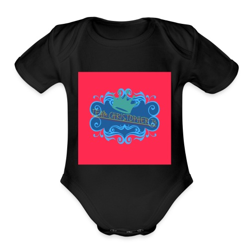 OUR OFFICIAL LOGO AS OF DECEMBER 28 2017 - Organic Short Sleeve Baby Bodysuit