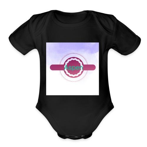 D99541DC CE03 44B9 9E21 A10B987F2262 - Organic Short Sleeve Baby Bodysuit
