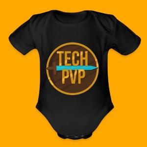 TechPvP Merch - Short Sleeve Baby Bodysuit