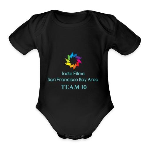 IMG 6485 - Organic Short Sleeve Baby Bodysuit