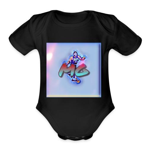 Mg nation - Organic Short Sleeve Baby Bodysuit