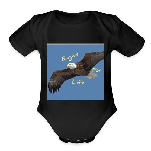Eagle merch - Organic Short Sleeve Baby Bodysuit