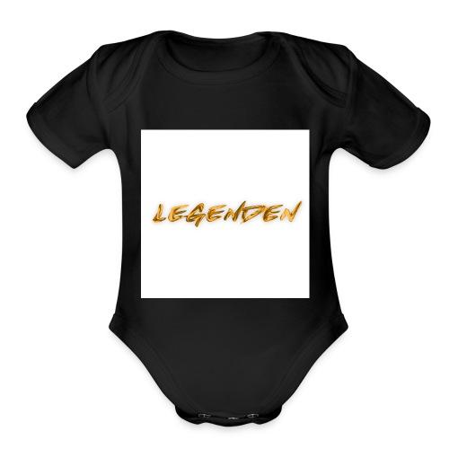 Hvit bakgrunn - Organic Short Sleeve Baby Bodysuit