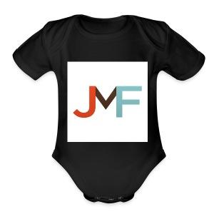 JMF Logo 1500x1500 - Short Sleeve Baby Bodysuit