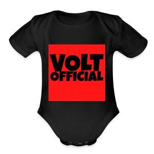 YT VOLT OFFICIAL - Short Sleeve Baby Bodysuit