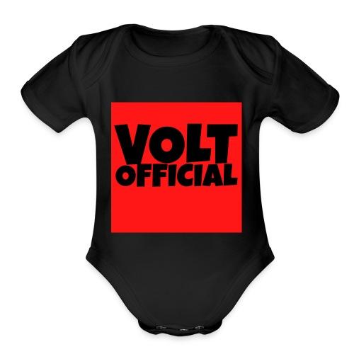 YT VOLT OFFICIAL - Organic Short Sleeve Baby Bodysuit