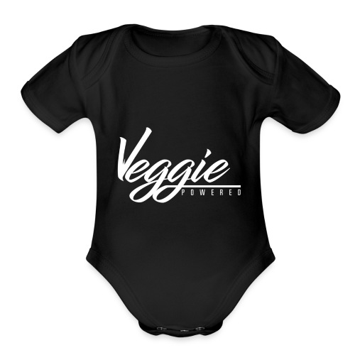 Veggie Powered - Organic Short Sleeve Baby Bodysuit
