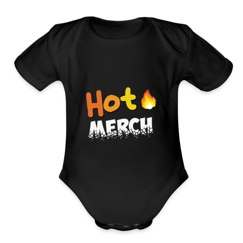 All New Hot Merch Merchandise - Organic Short Sleeve Baby Bodysuit