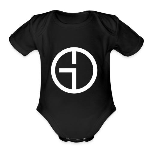GO Logo - Organic Short Sleeve Baby Bodysuit