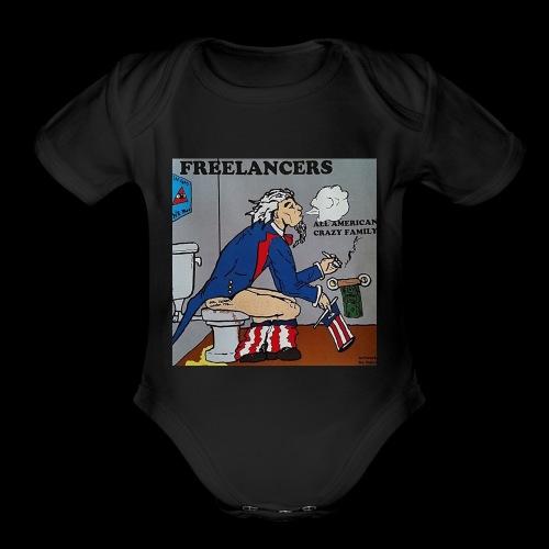 AACF logo - Organic Short Sleeve Baby Bodysuit