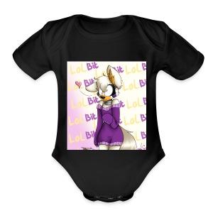 Anthony d. - Short Sleeve Baby Bodysuit